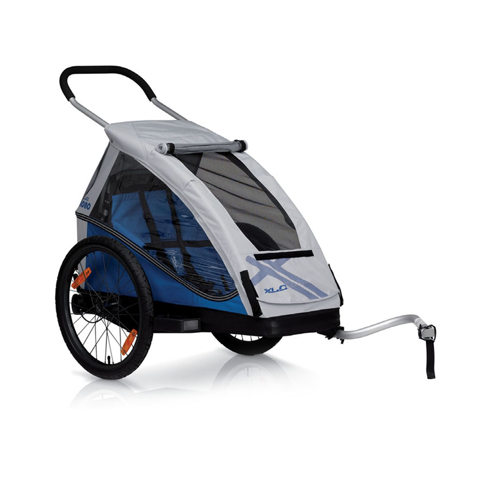 Child bike trailers
