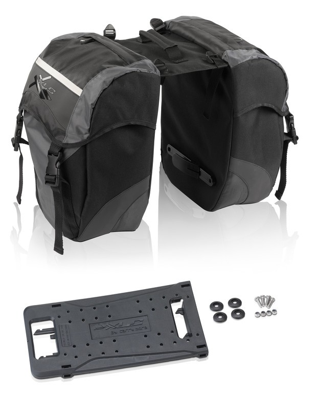 Double carry bag Carry More for XLC system carrier BA-S63