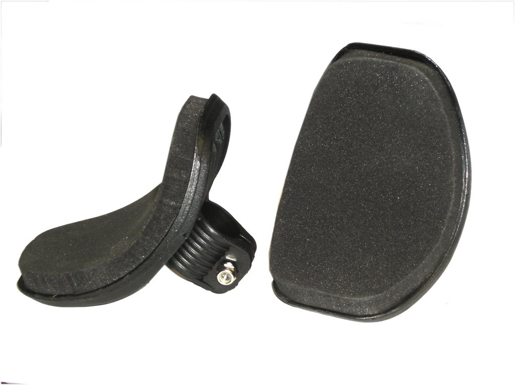 Replaceable arm supports for Tri-Bar racing handlebar HB-X01