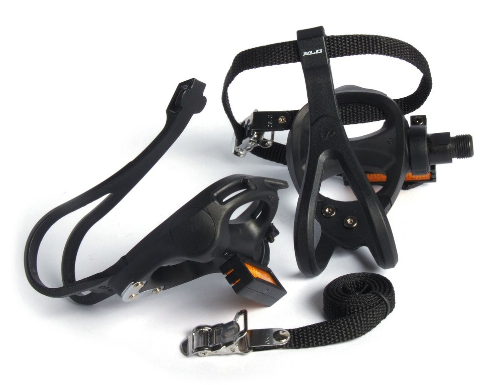Road pedal with hook and strap PD-R01